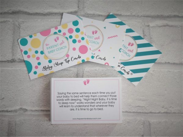 Baby Sleep Tip Cards