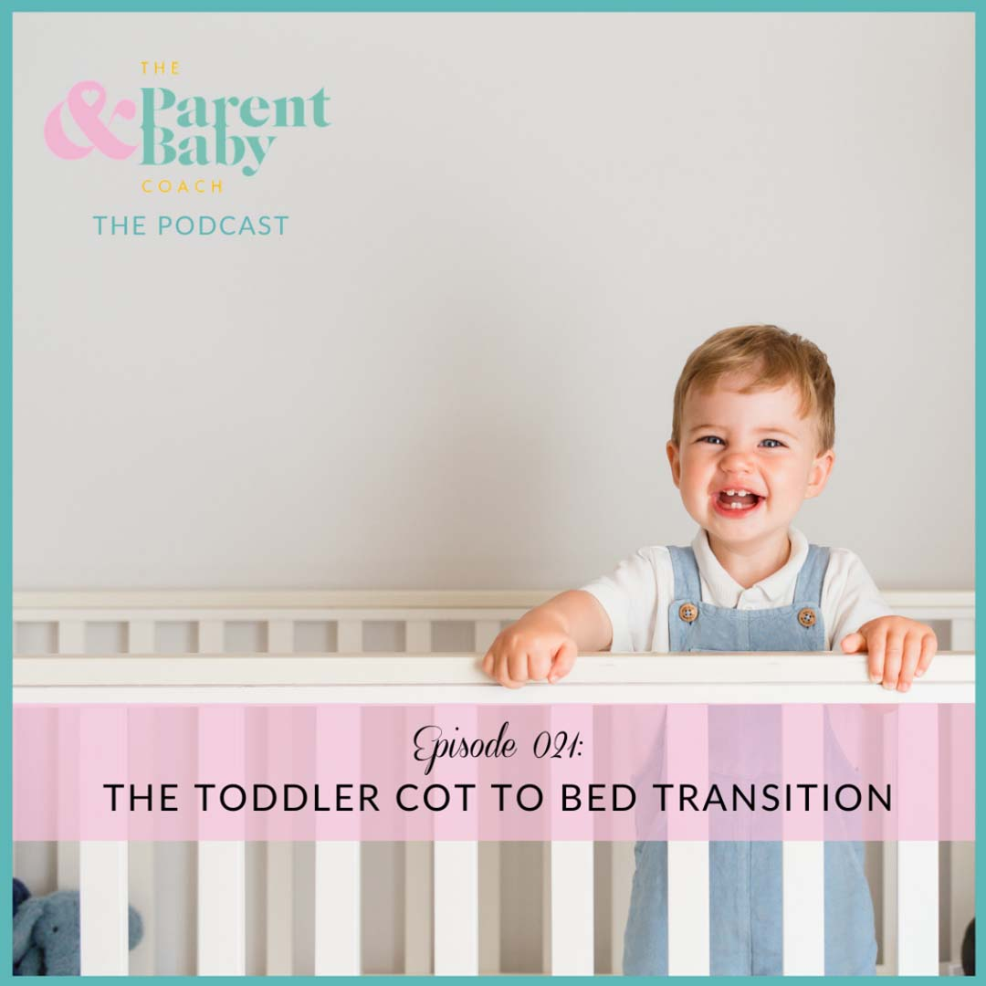 the toddler cot to bed transition