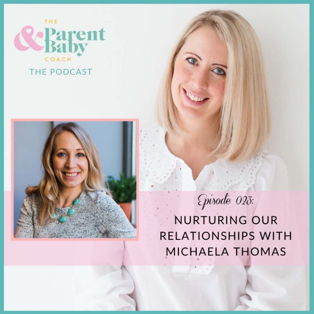 nurturing our relationships with michaela thomas